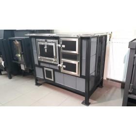 Piec kaflowy/kuchnia AGAT AKUPIEK L/P 890x470 4,5 kW