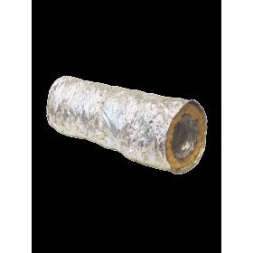 Rura elastyczna RESD 125  (opk.10 mb) z izolacją alum.