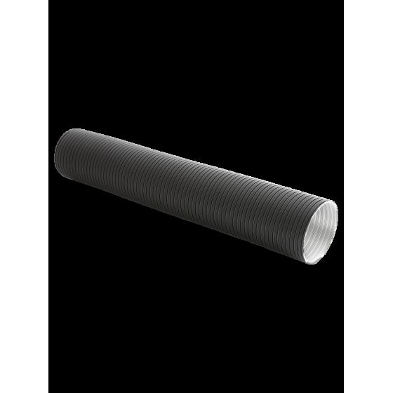 Rura elastyczna REP-125/1500-ML-CZ - czarna aluminiowa