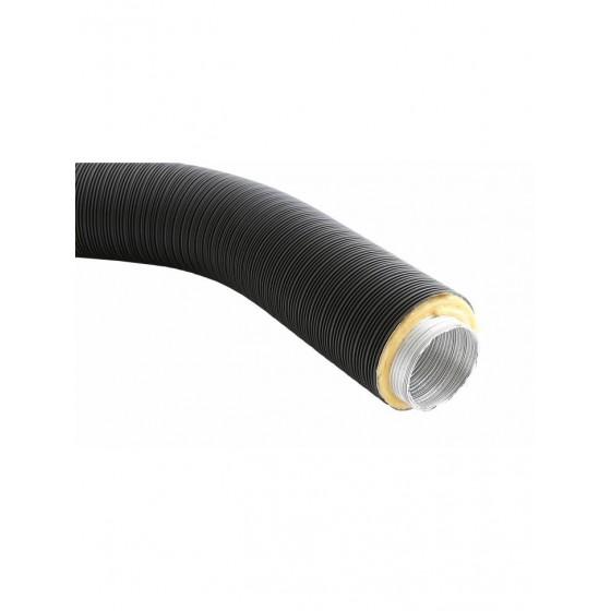 Rura elastyczna REPI-063/0,75-ML-CZ - czarna z izolacją alum.