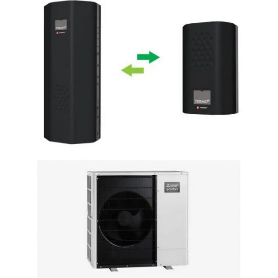 Pompa ciepła 14,4 kW / 400V / Zubadan typu split – Termoplus