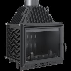 Wkład kominkowy 12 kW z systemem dopalania Zuzia ECO