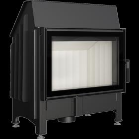 Wkład kominkowy 11 kW z szybą typu glass Zibi DECO