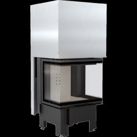 Wkład kominkowy 9 kW z potrójnym przeszkleniem NBC 600/400