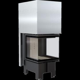 Wkład kominkowy 8 kW z trójstronnym przeszkleniem NBC 500/500