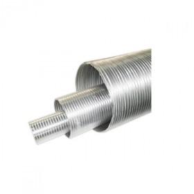 Rura elastyczna jednościenna kwasoodporna o średnicy 130 mm stalflex